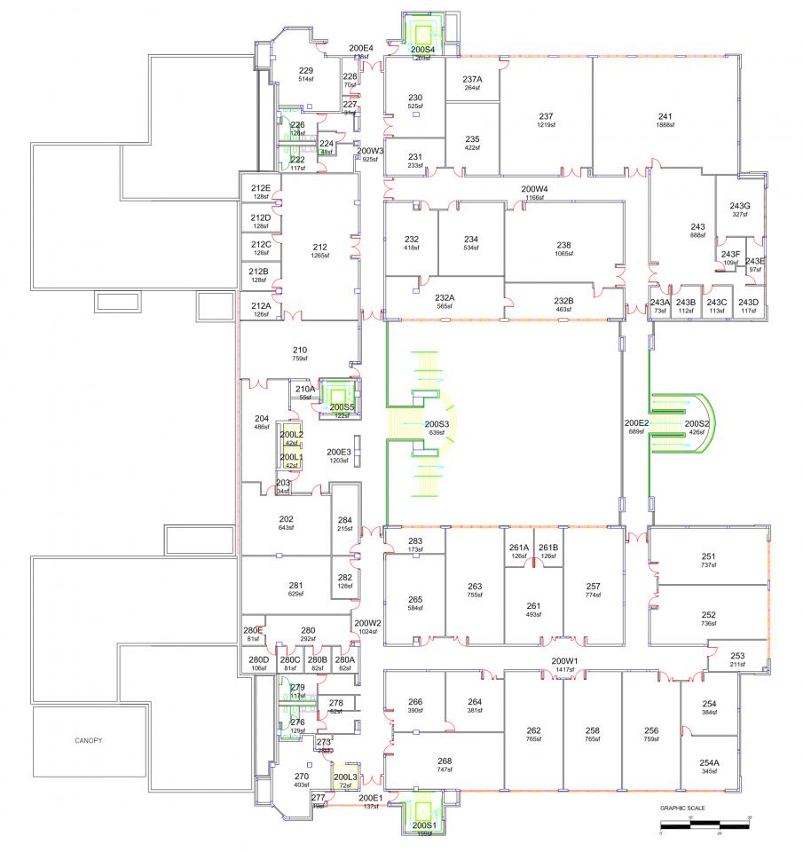 ECS Building - Second Floor