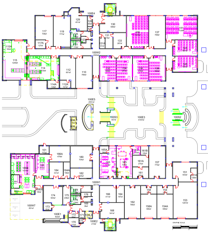 ECS Building 1st Floor Plan