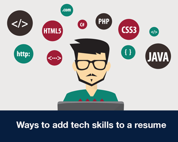 Ways to add tech skills to a resume | School of Computing and Information Sciences