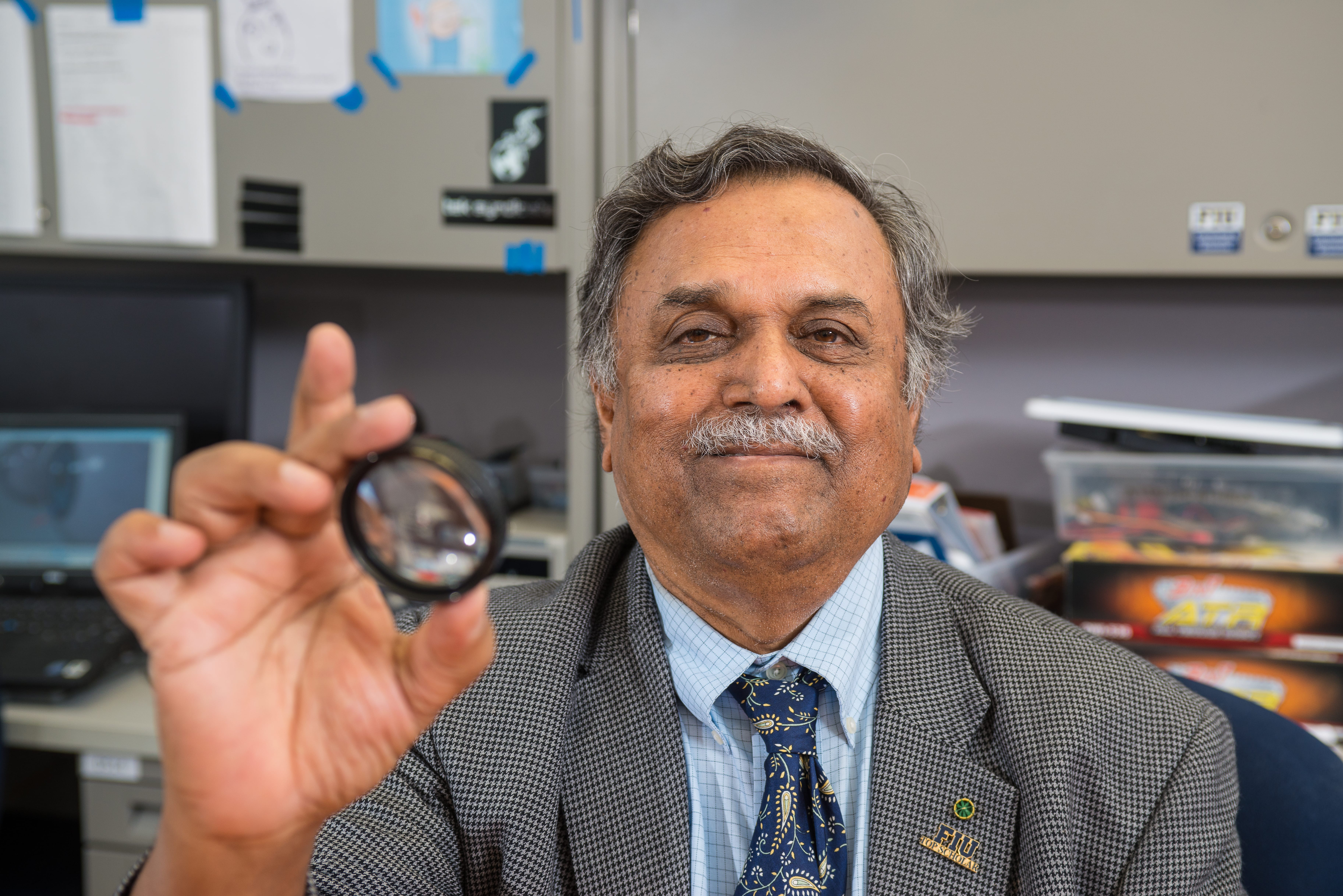 New Eye Implant Device could Save Glaucoma Patients' vision | School of Computing and Information Sciences 2