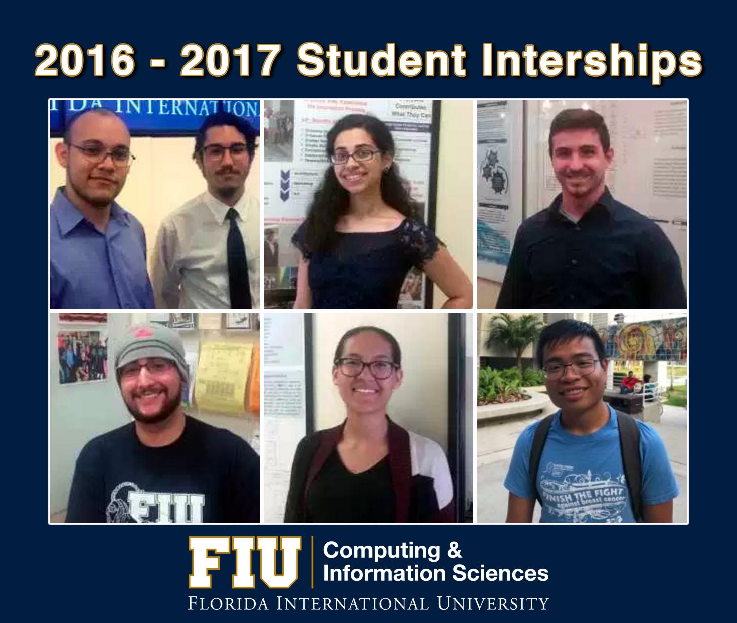 Summer Student Internships Poster