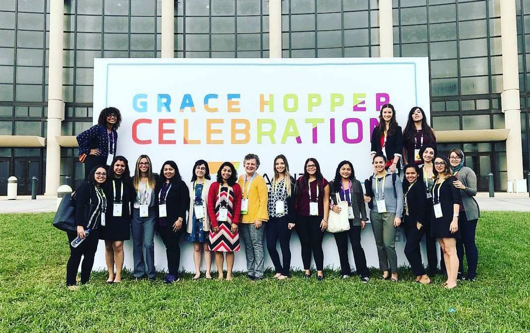Photo of FIU SCIS at Grace Hopper Confernece