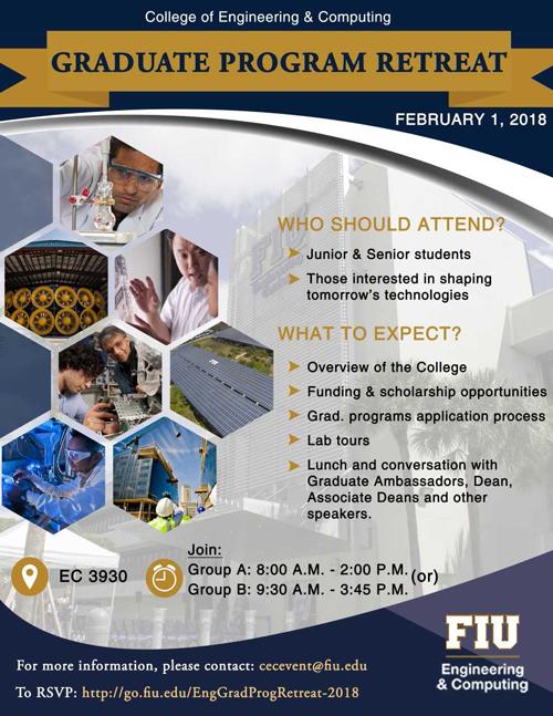 cec graduate program retreat flyer