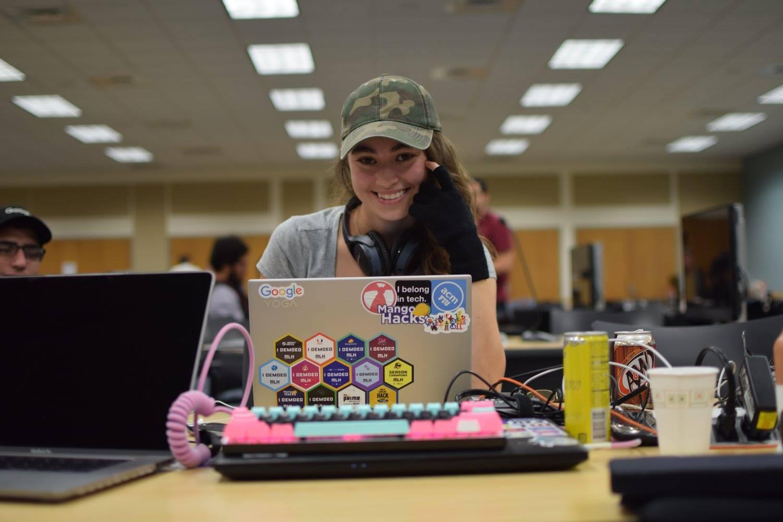 Photo of Krista Shuckerow at Global Game Jams 2018 at FIU