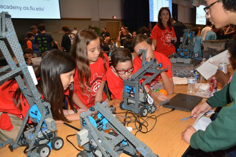 Photo from FIU First Robotics Open