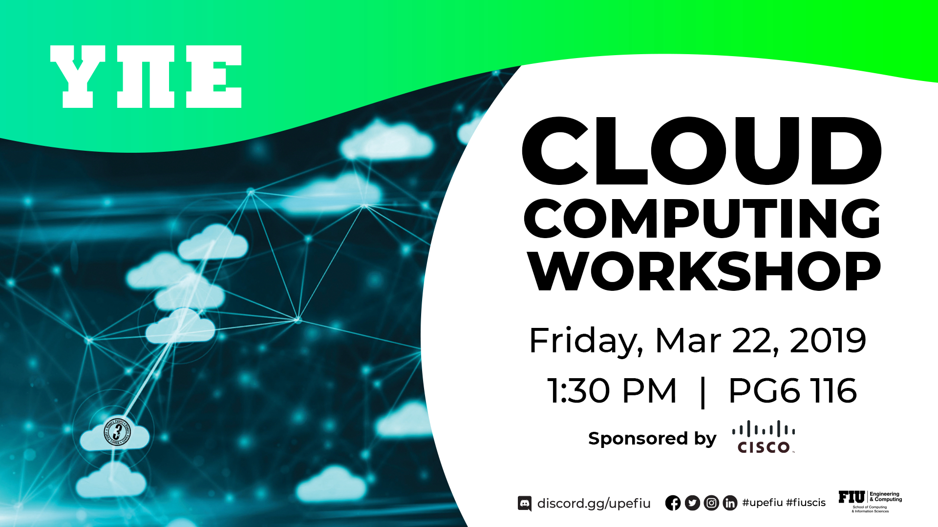 Flyer of UPE Cloud Computing Workshop