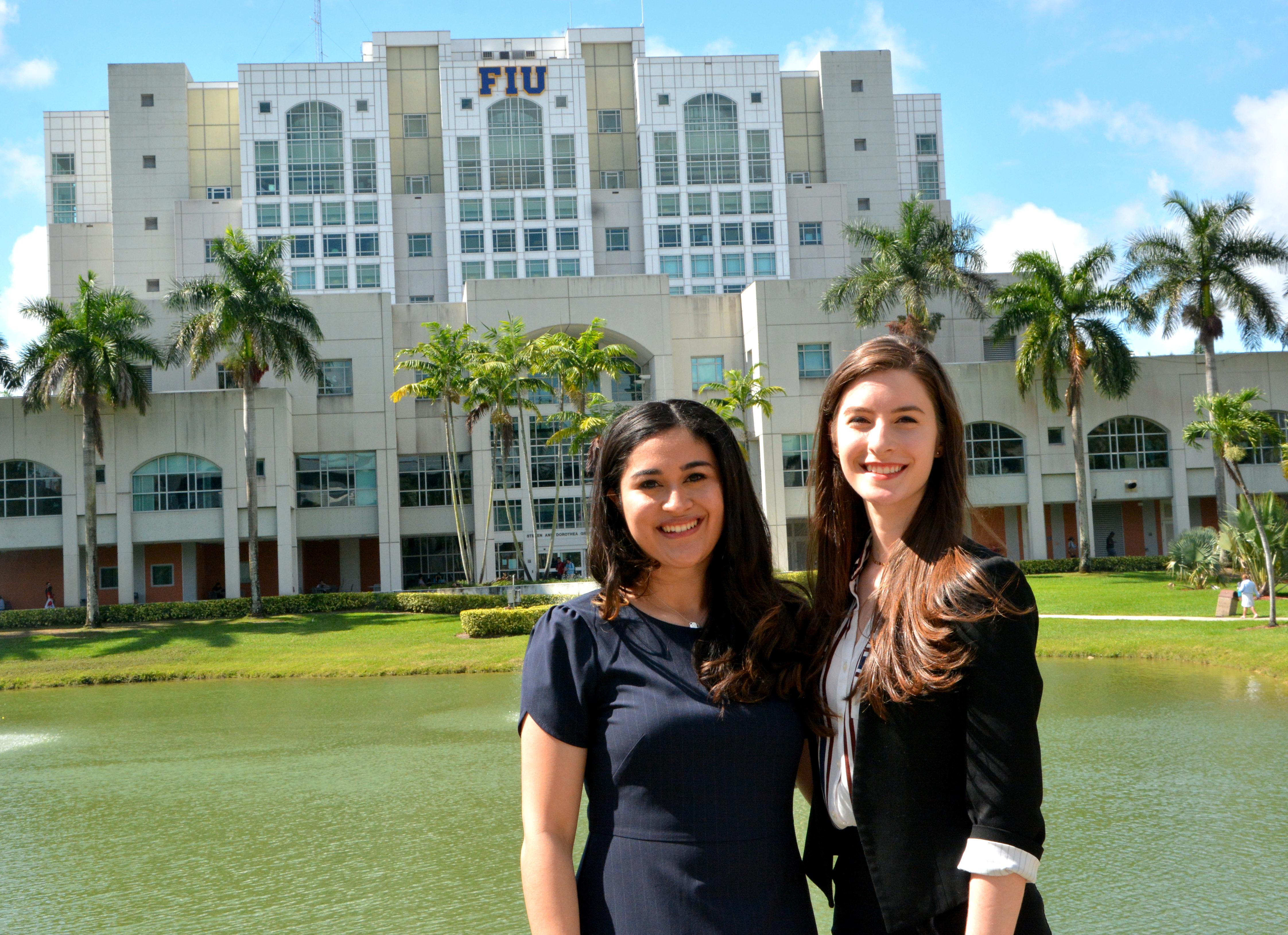 Photo of Sheila Alemany and Cesia Bulnes