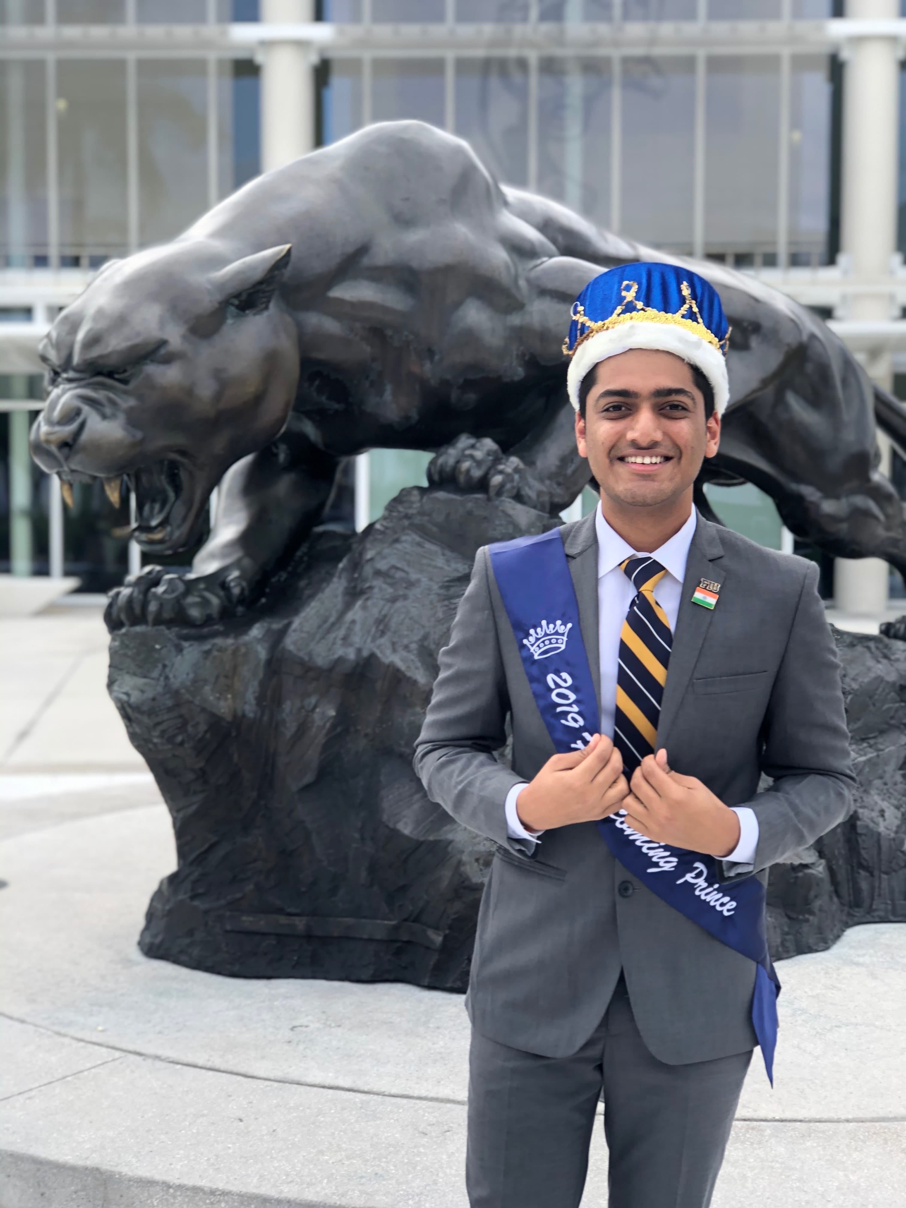 Photo of Rahul Mittal homecoming prince